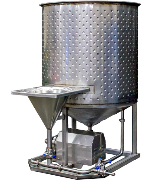 Brine Mixer w Glycol Jacket